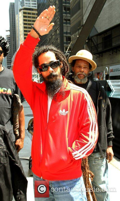 Damian Marley and David Letterman 5
