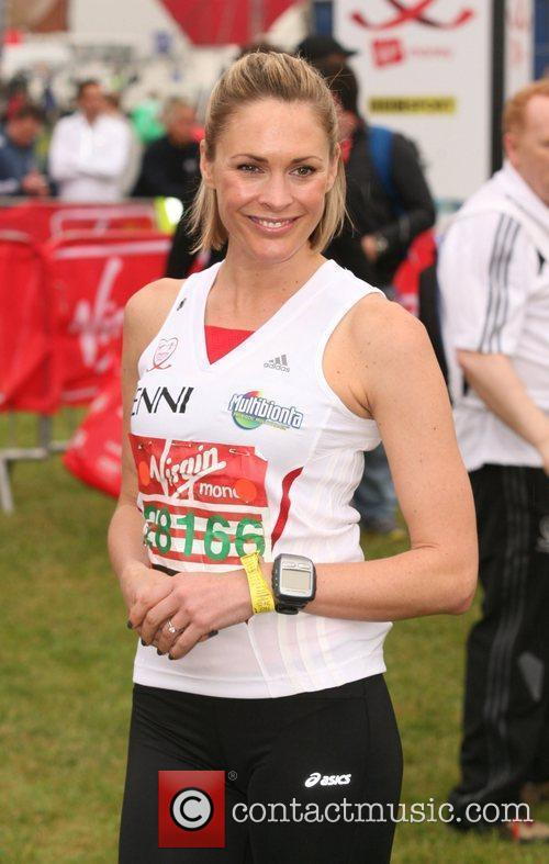 Jenni Falconer The start of the 2010 Virgin...