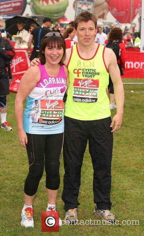 Lorraine Kelly and Ben Shepherd The start of...