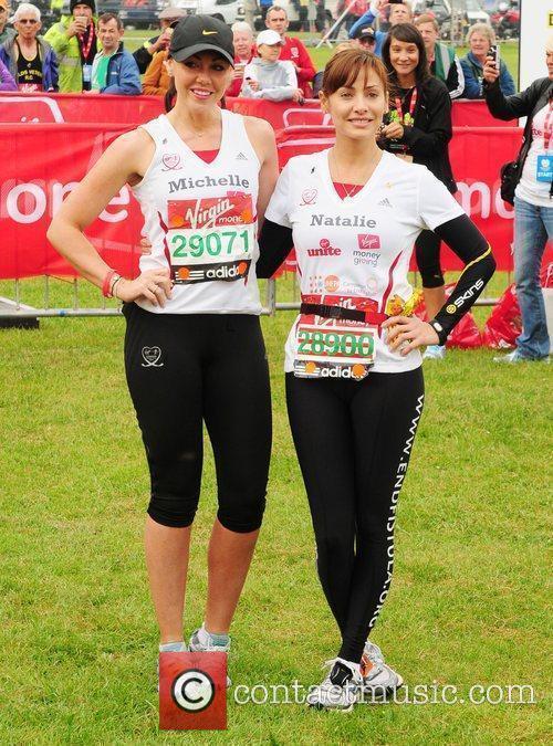 Michelle Heaton and Natalie Imbruglia 2