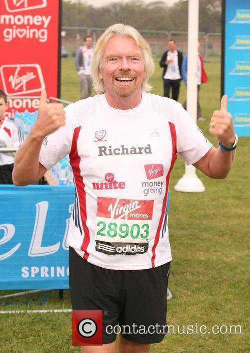 The start of the 2010 Virgin London Marathon...
