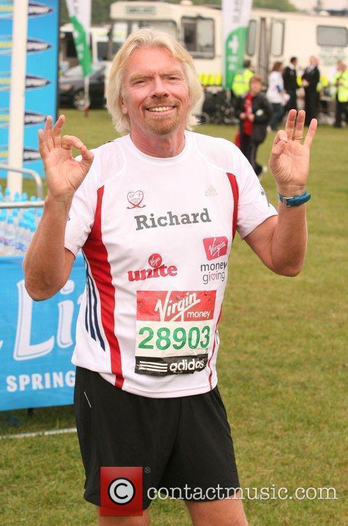 Richard Branson The start of the 2010 Virgin...