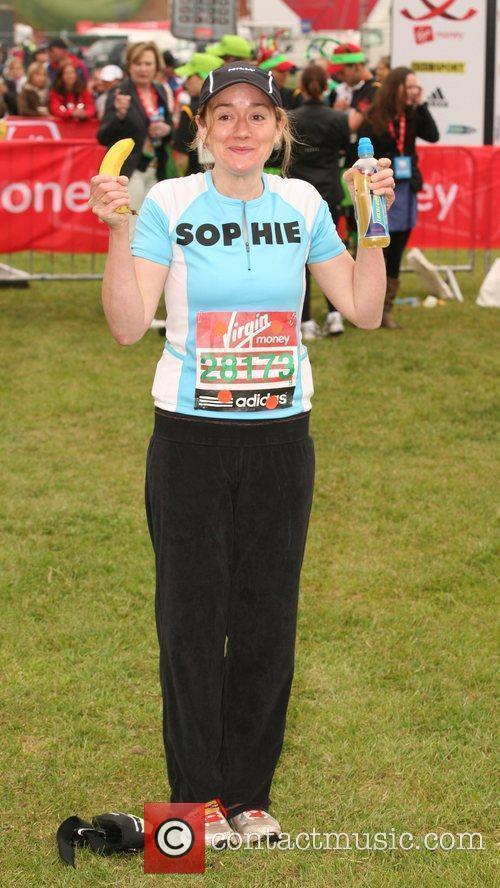 Sophie Thompson The start of the 2010 Virgin...