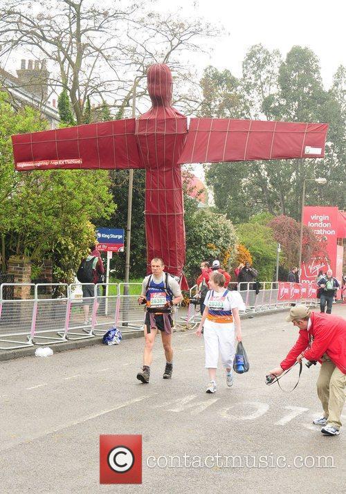 The start of the 2010 Virgin London Marathon...