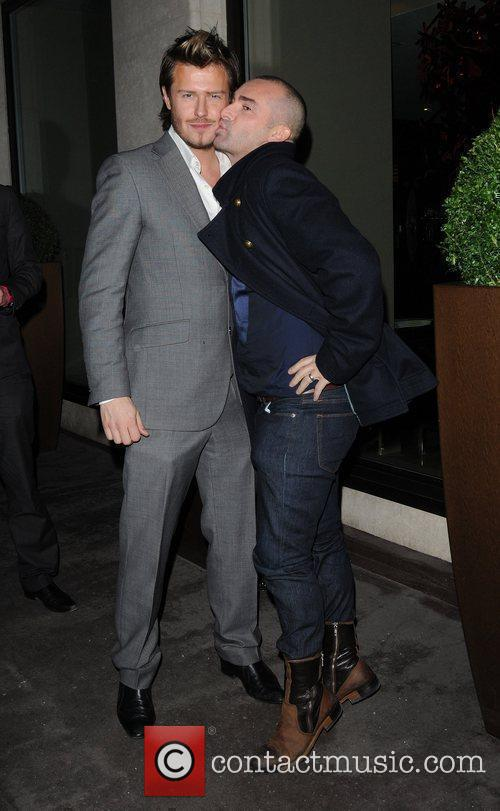 Louie Spence and David Beckham 2
