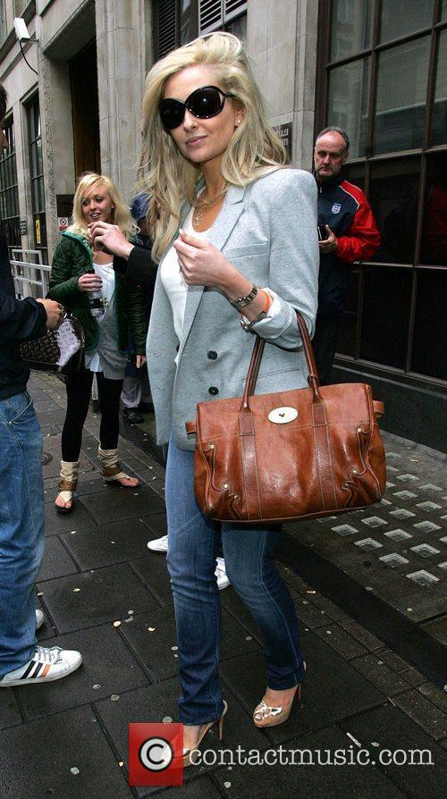 Gemma Merna  leaving the BBC Radio One...