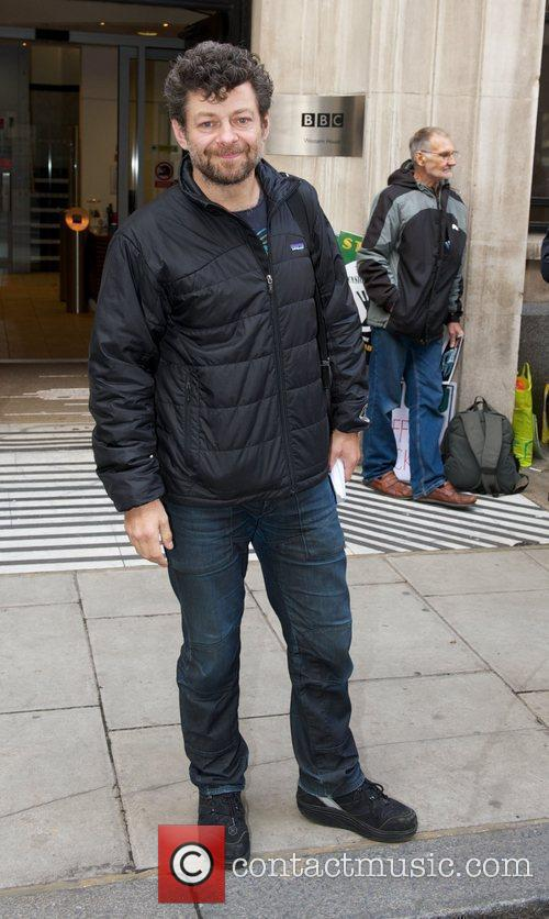 Andy Circus arriving at the BBC Radio 2,...