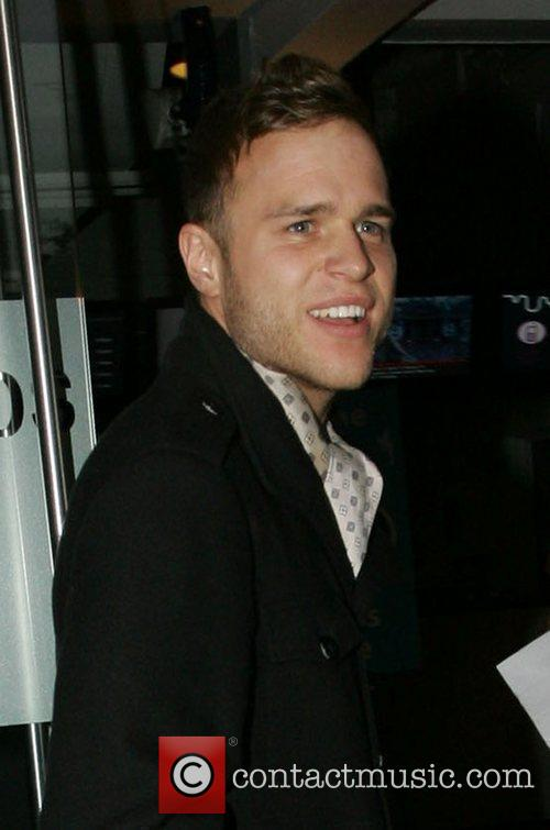 Olly Murs Celebrities arrive at the Riverside studios...