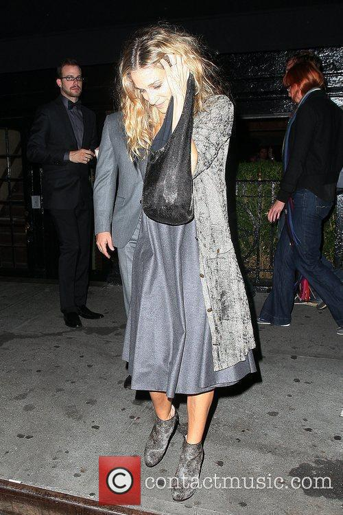 Sarah Jessica Parker, Anderson Cooper, Leaves and The Lion 1