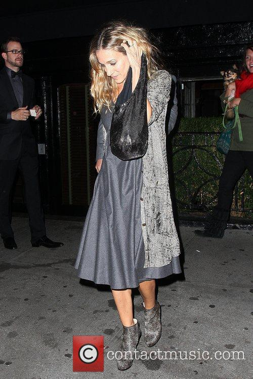Sarah Jessica Parker leaves The Lion restaurant in...