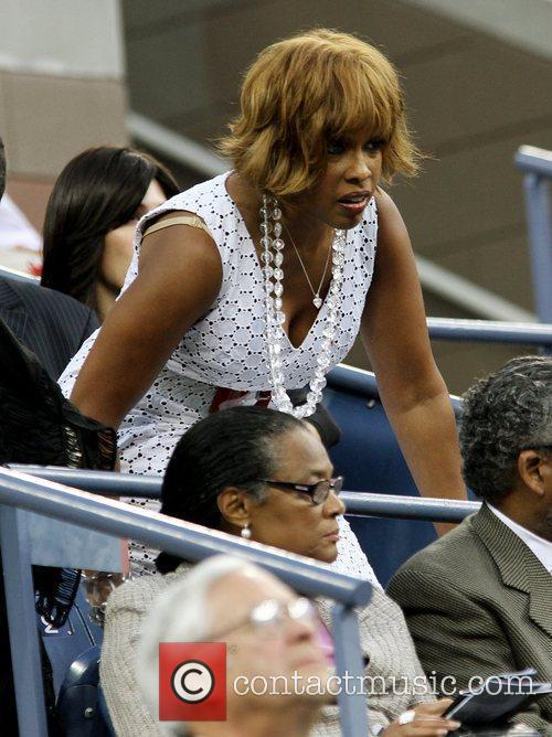 Gayle King  2010 US Open Opening Night...
