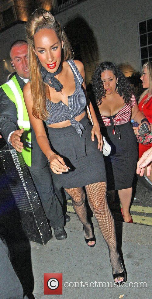 Leona Lewis arrives at Whisky Mist London, England