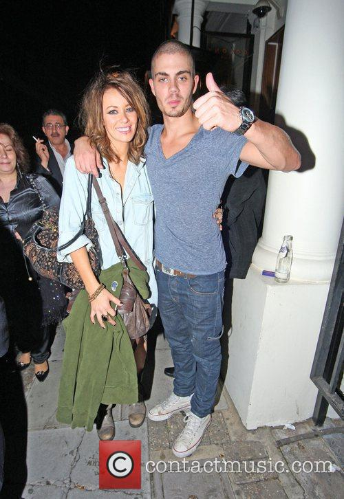 Max George of The Wanted and his girlfriend...