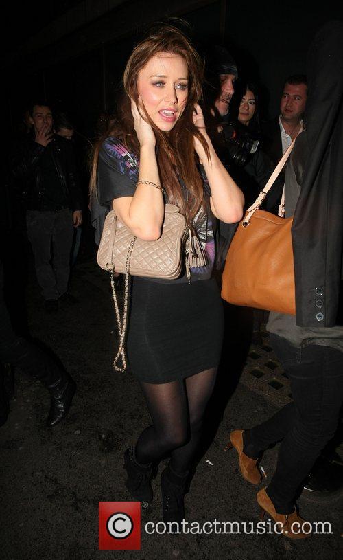 Leaving Whisky Mist nightclub in Mayfair