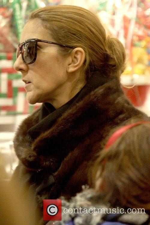 Celine Dion  goes to Dylan's Candy Bar...
