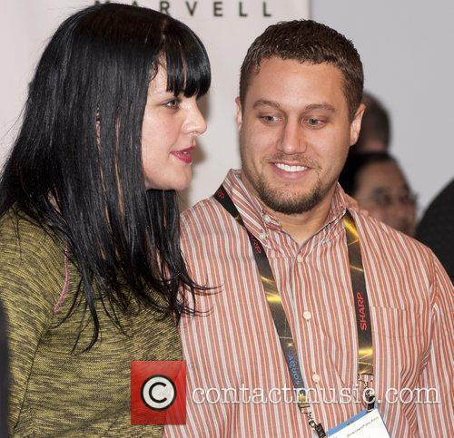 Pauley Perrette Consumer Electronics Show 2010 held at...