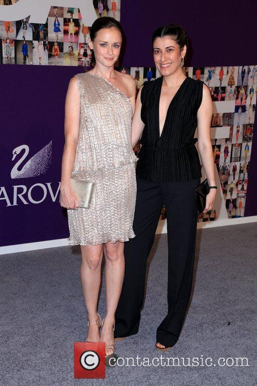 Alexis Bledel and Guest 2010 CFDA Fashion Awards...