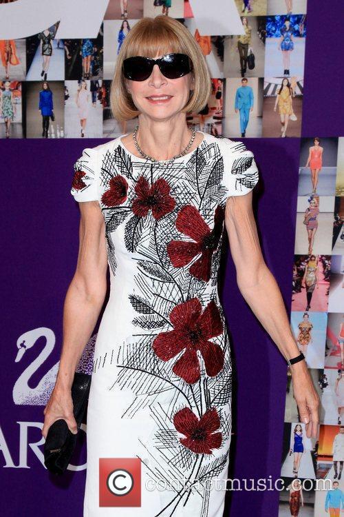 Anna Wintour 2010 CFDA Fashion Awards at Alice...
