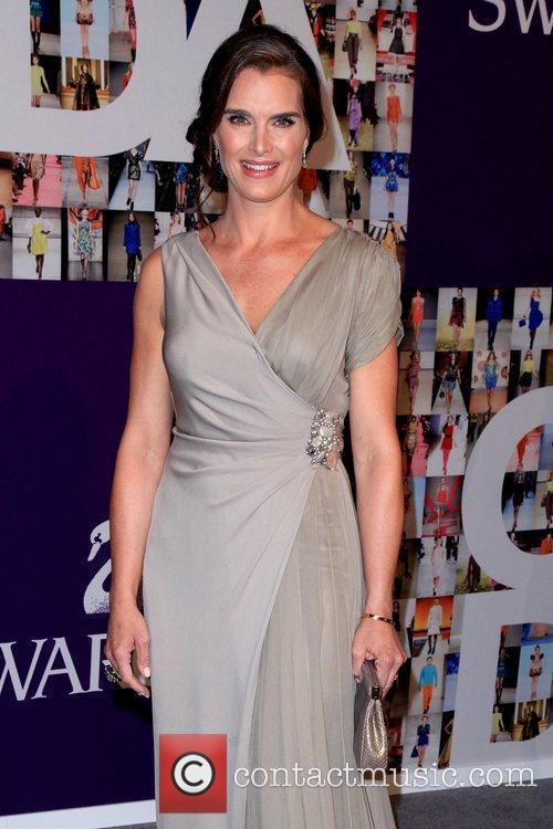 Brooke Shields 2010 CFDA Fashion Awards at Alice...