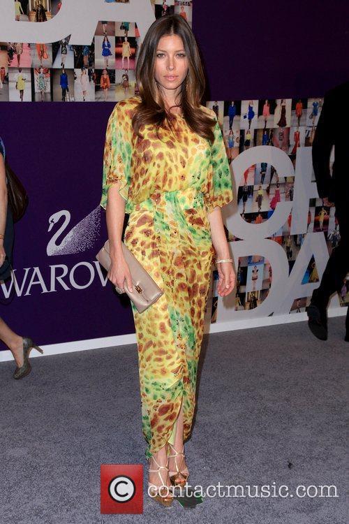 Jessica Biel 2010 CFDA Fashion Awards at Alice...