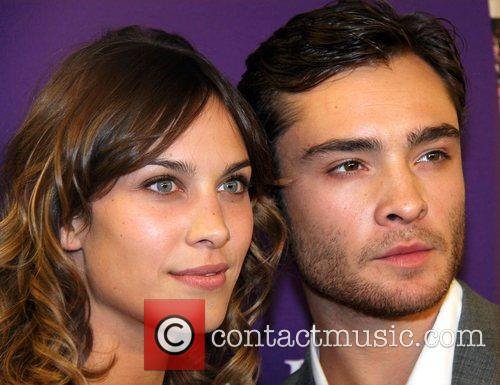 Alexa Chung and Ed Westwick attend the 2010...