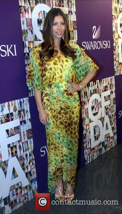 Jessica Biel attend the 2010 CFDA Fashion Awards...