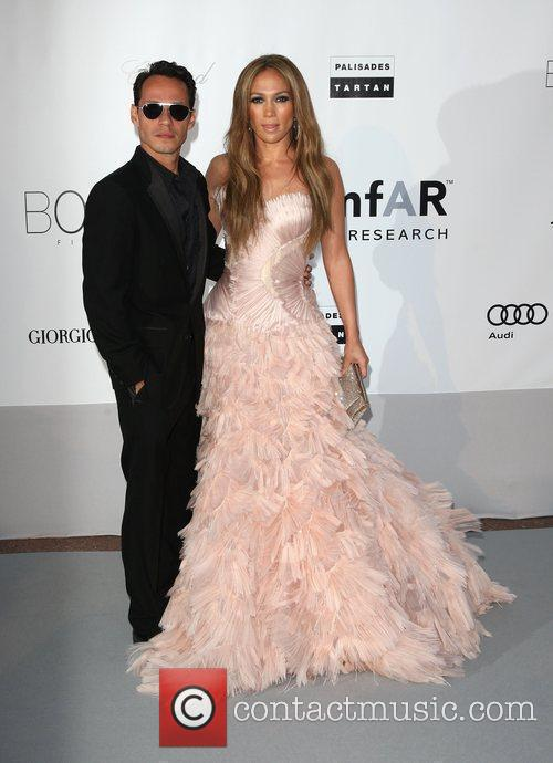Marc Anthony and Jennifer Lopez 2010 Cannes International...