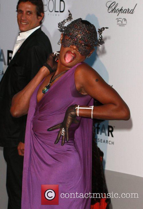 Grace Jones 2010 Cannes International Film Festival -...