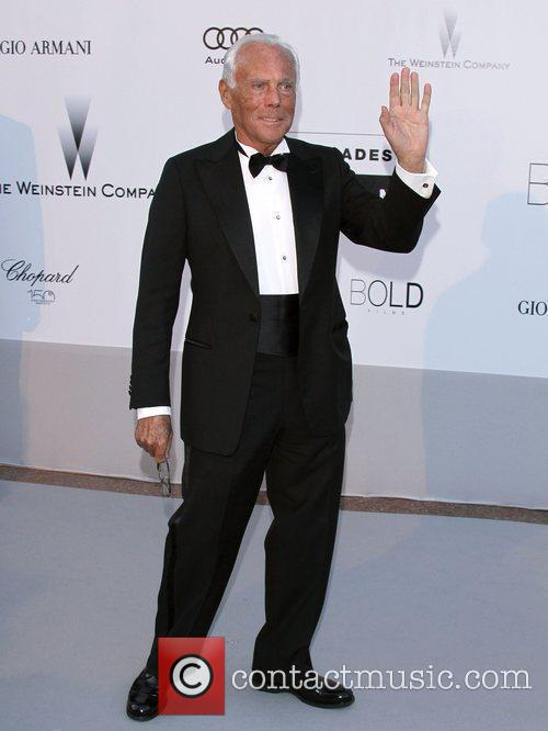 Giorgio Armani  2010 Cannes International Film Festival...