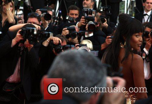 Naomi Campbell Cannes International Film Festival 2010 -...