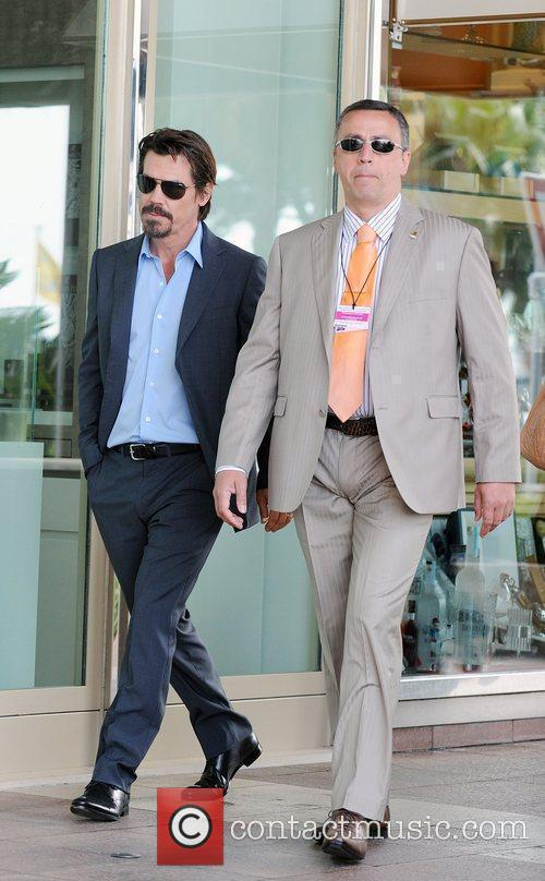Leaving the Croisette during the 2010 Cannes International...