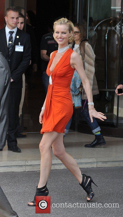 Eva Herzigova at the 2010 Cannes Film Festival...