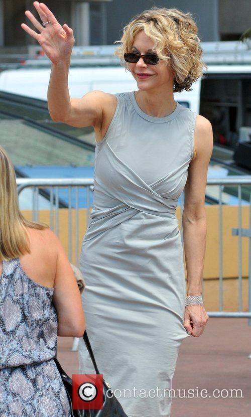 Meg Ryan Celebrities at the 2010 Cannes Film...