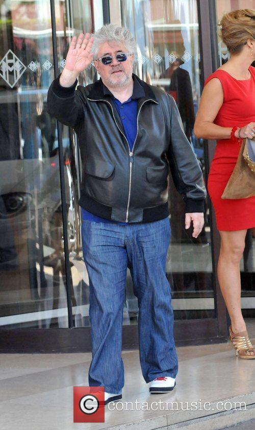 Pedro Almodovar Celebrities at the 2010 Cannes Film...
