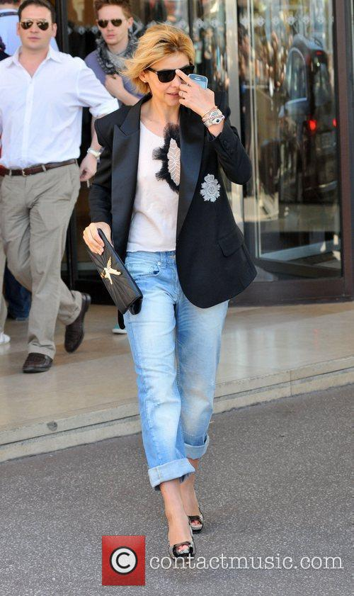 Princess Clotilde Courau Celebrities at the 2010 Cannes...