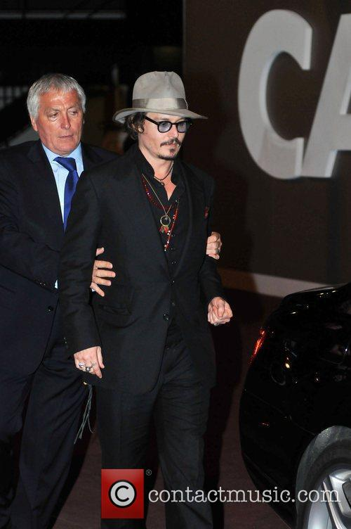 Johnny Depp, Cannes Film Festival