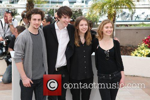 Aaron Johnson, Matthew Beard, Hannah Murray and Imogen Poots 2