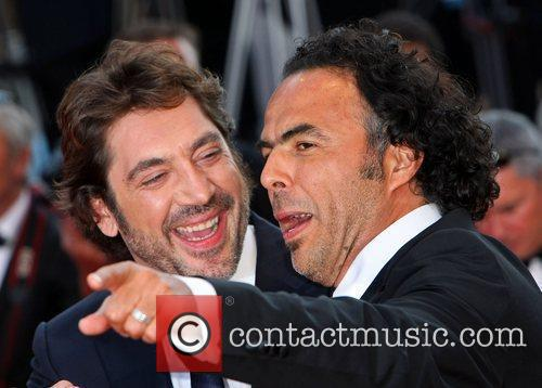 Alejandro Gonzalez Inarritu and Javier Bardem 5
