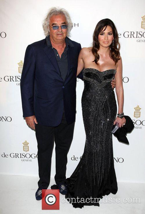 Flavio Briatore and Elisabetta Briatore