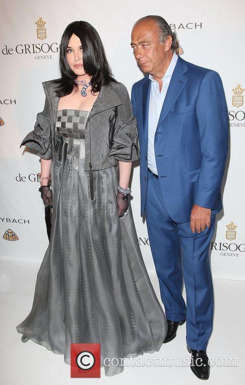 Isabelle Adjani and Fawaz Gruosi