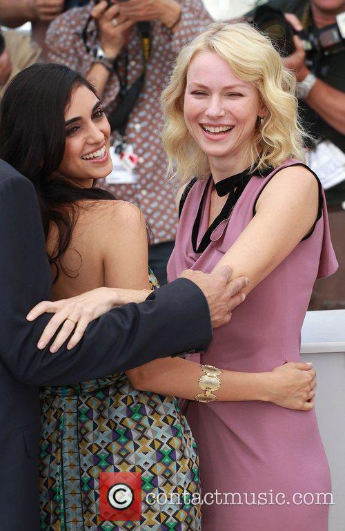 Liraz Charhi and Naomi Watts 2010 Cannes International...