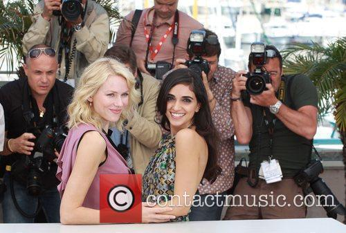 Naomi Watts and Liraz Charhi 2010 Cannes International...