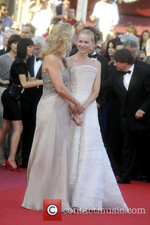 Naomi Watts and guest 2010 Cannes International Film...