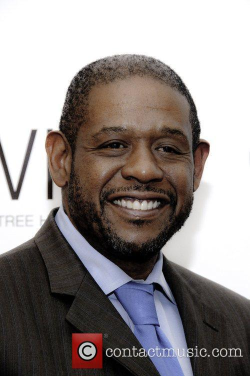 Forest Whitaker received the Career Achievement Award from...