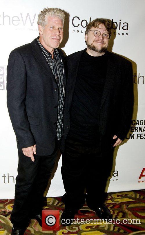 Ron Perlman, Chicago, Gomez and Guillermo Del Toro 8