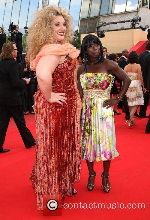 Surya Bonaly and Velvet d'Amour 2010 Cannes International...