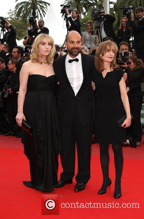 Lolita Chammah, Marc Fitoussi and Isabelle Huppert Cannes...