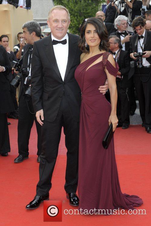 Francois-henri Pinault and Salma Hayek 8