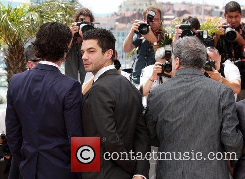 Dominic Cooper and Stephen Frears 1