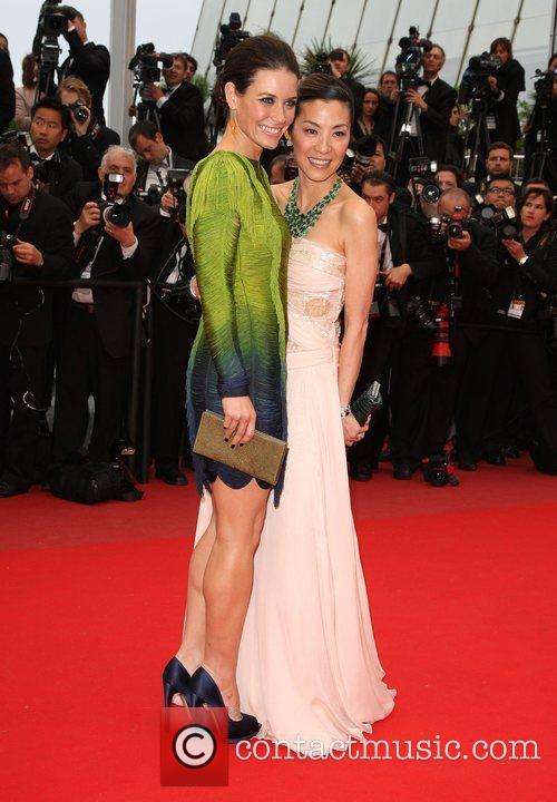 Michelle Yeoh and Evangeline Lily 2